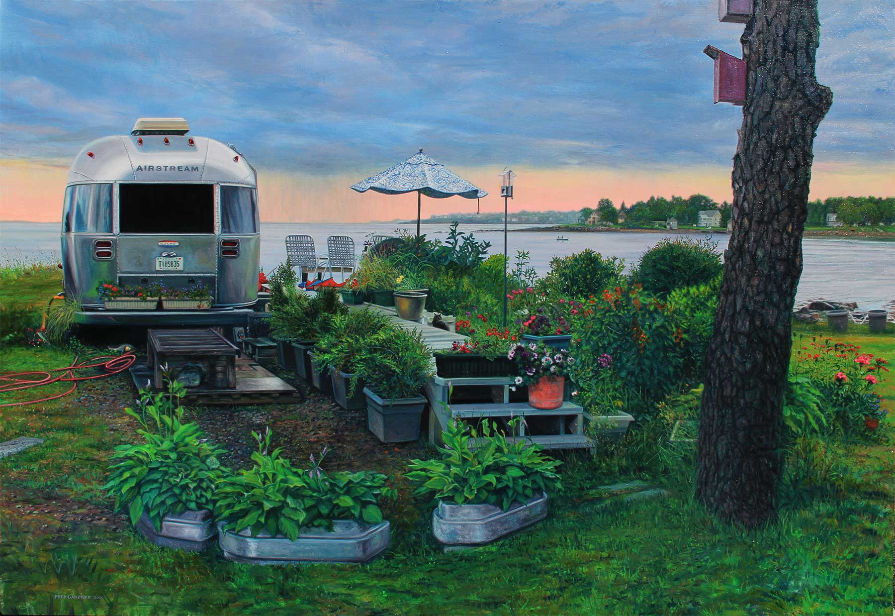 Airstream Trailer in Maine near Cape Neddick